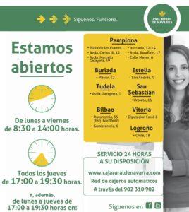 Nuevo horario de atenci n al p blico blog de caja rural for Horario oficinas caja rural