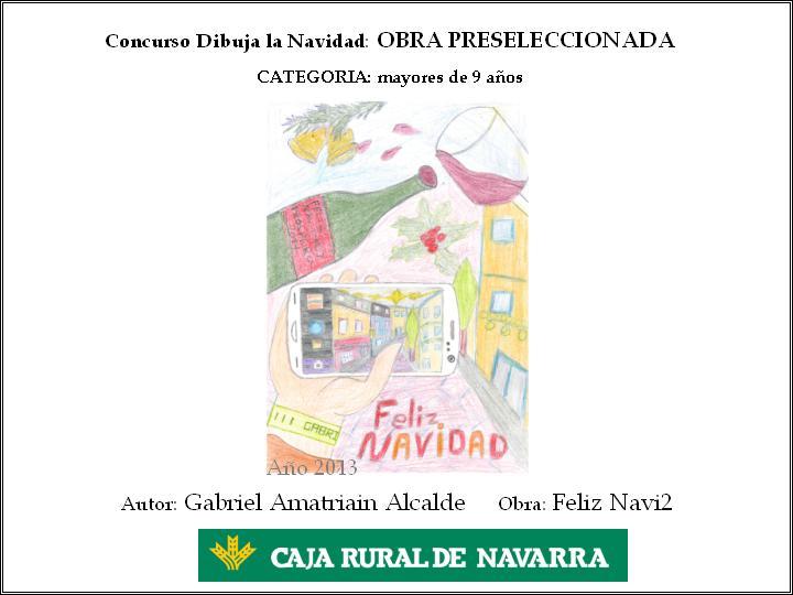 Dibuja la navidad blog de caja rural de navarra for Caja rural de navarra oficinas