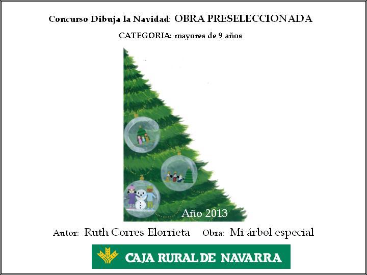 Ganadores concurso dibuja la navidad blog de caja for Caja rural de navarra oficinas
