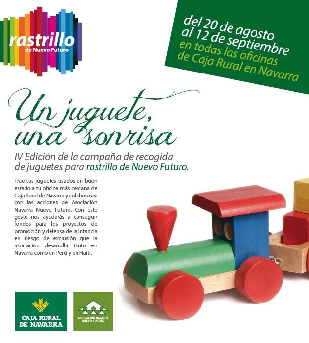 Recogida juguetes caja rural de navarra blog de caja for Caja rural de navarra oficinas