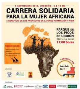 Carrera Solidaria por la Mujer de Africa