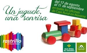 """Campaña Recogida Juguetes: """"Un juguete una sonrisa"""""""
