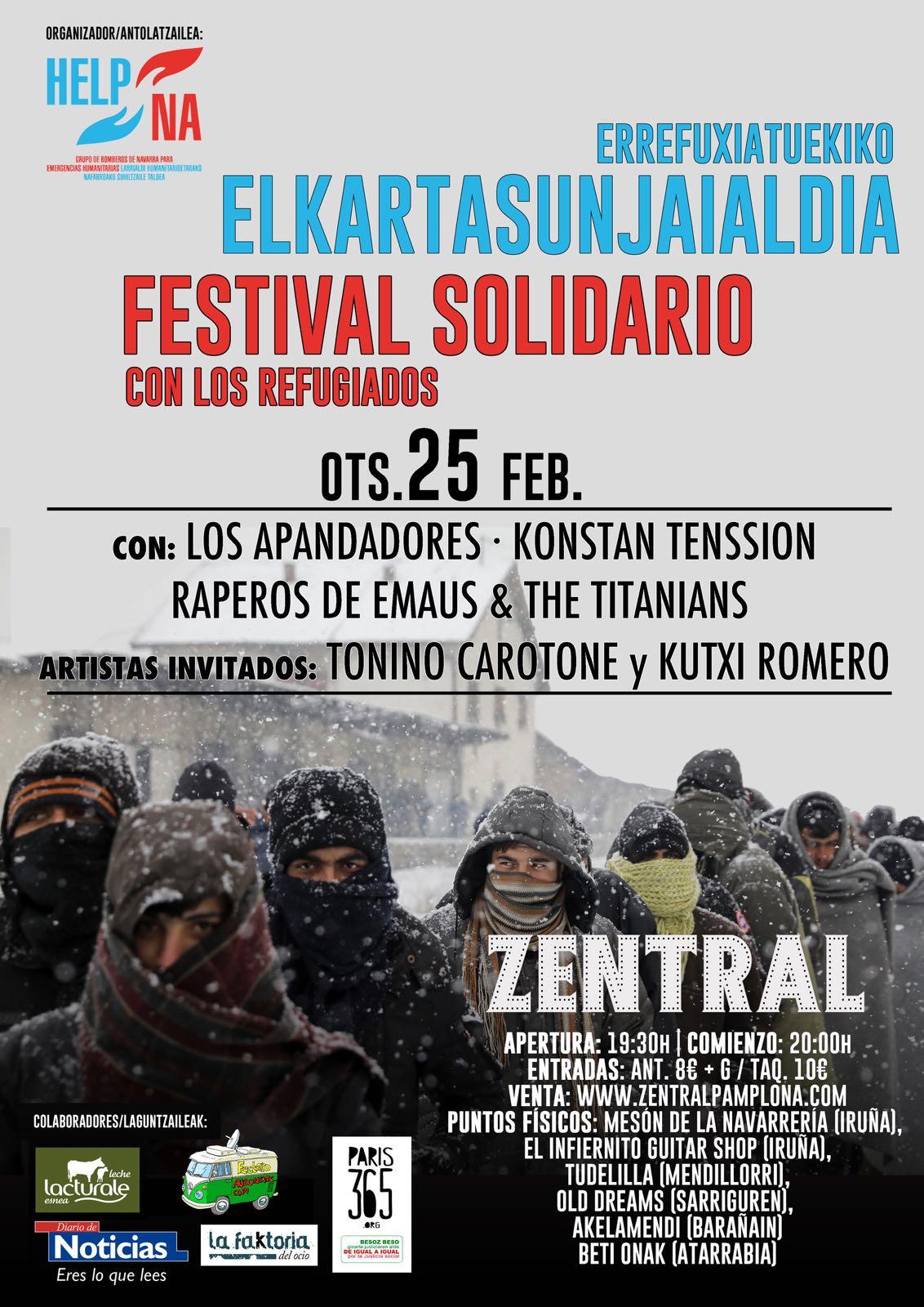 Festival Solidario Refugiados