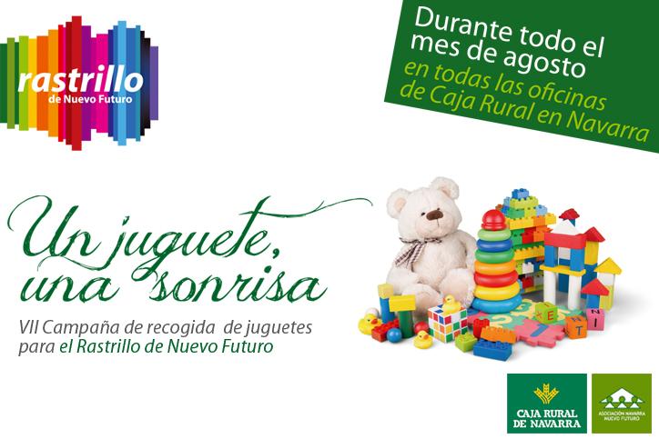 Campana de recogida de juguetes usados