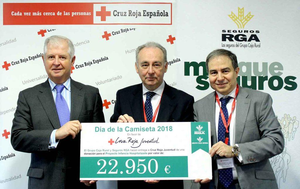 Donacion Cruz Roja Caja Rural