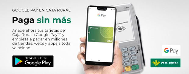 Caja Rural de Navarra - Google Pay