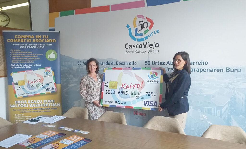 Tarjeta fidelizacion Casco Viejo Bilbao