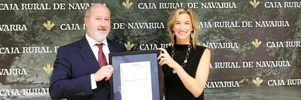 Certificado AENOR Caja Rural