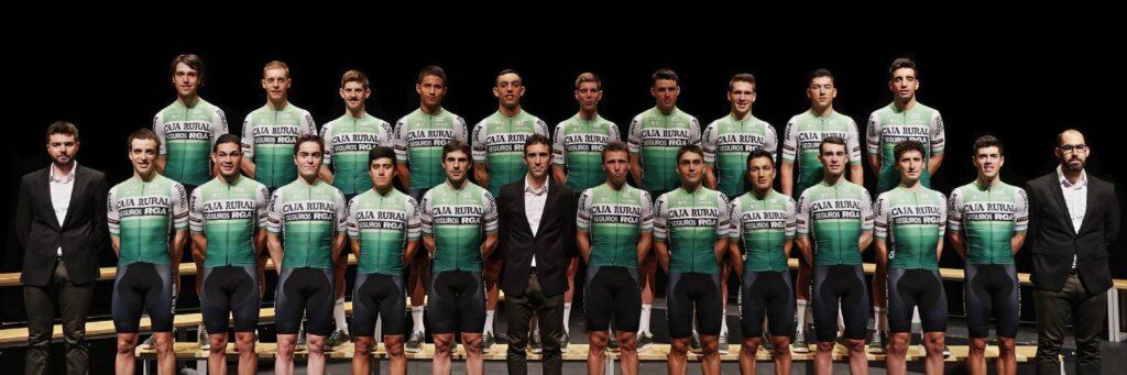 Presentacion equipo ciclista Caja Rural 2020